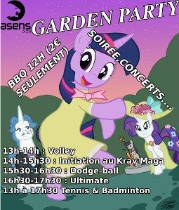 affiche garden 2